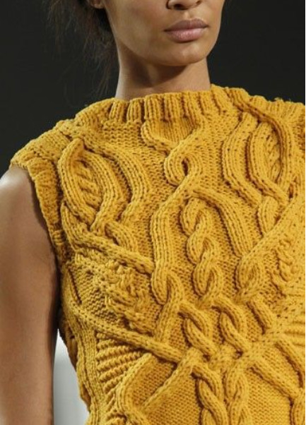Модная вязаная одежда и стильные вещи
