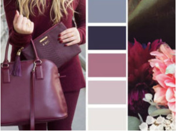 Сочетание цветов в одежде + таблица