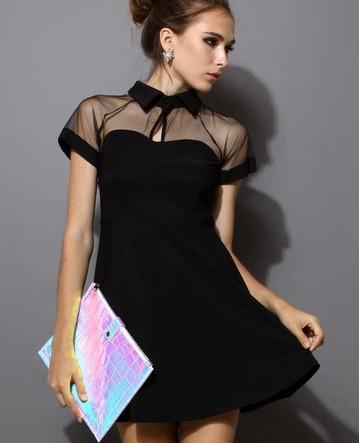 Великолепие маленького чёрного платья: 25+ изумительных идей