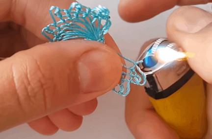 Кружево на вилке: уникальная техника плетения, которой захочется научиться...