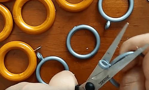 Кольца для карнизов, ставшие элементом декора: просто, стильно и со вкусом