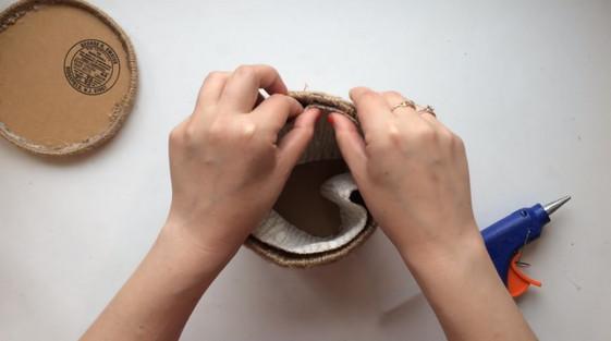 Дизайнерская вещица из обычного джута: потрясающий результат при незначительных затратах